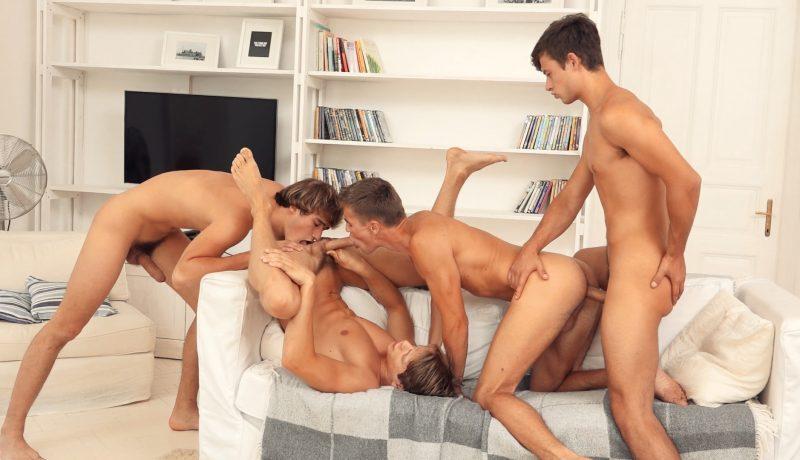 FRESHMEN : Bastian, Jason, Kieran & Eluan